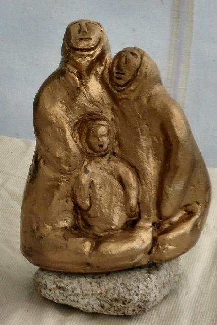 une famille en or sur la banquise